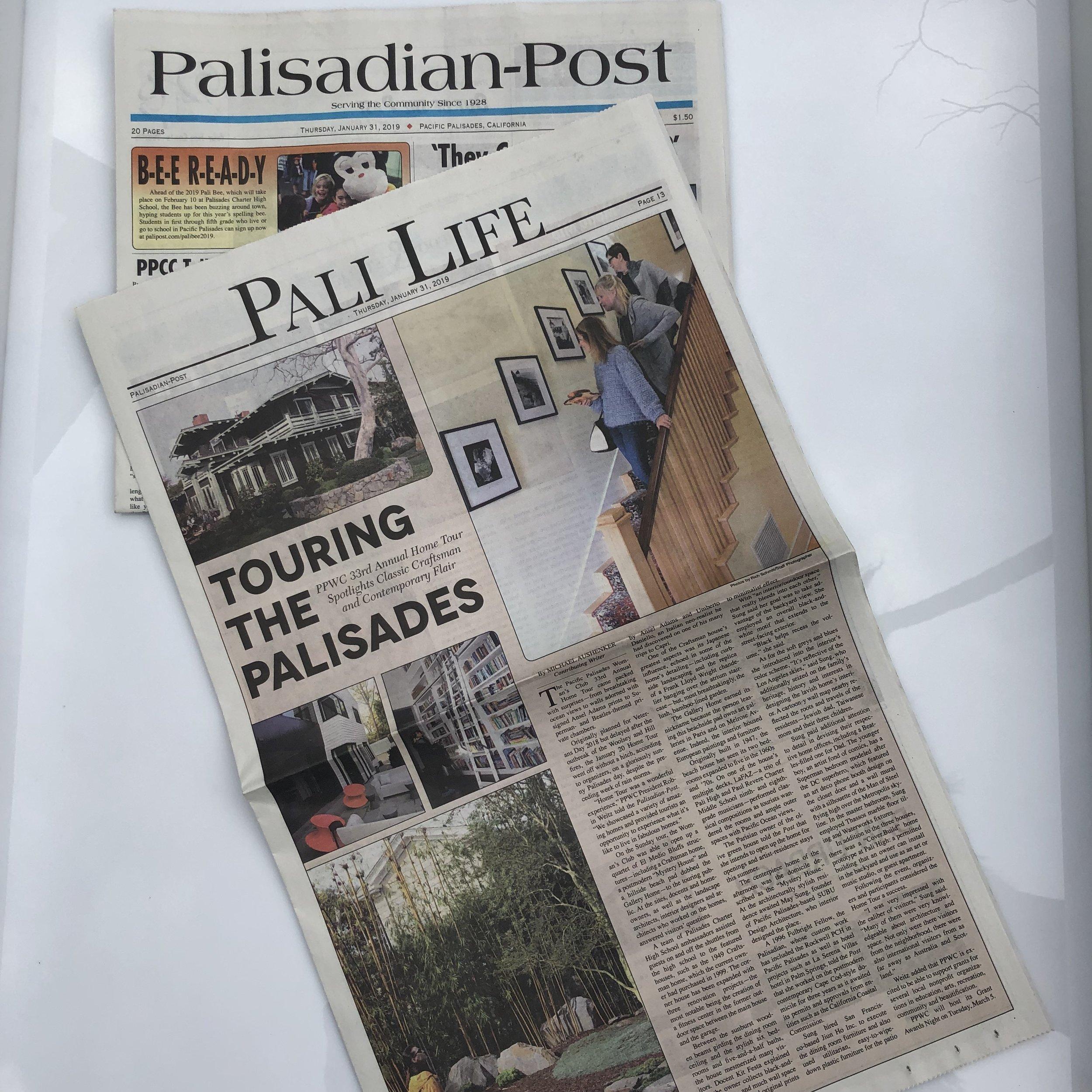 Palisadian-Post - January 31, 2019 - TOURING THE PALISADES