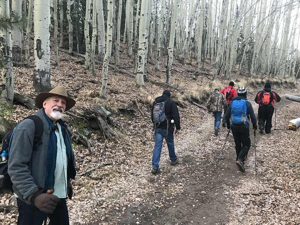 A CTA Group hike.  Photo by Christopher Baca.