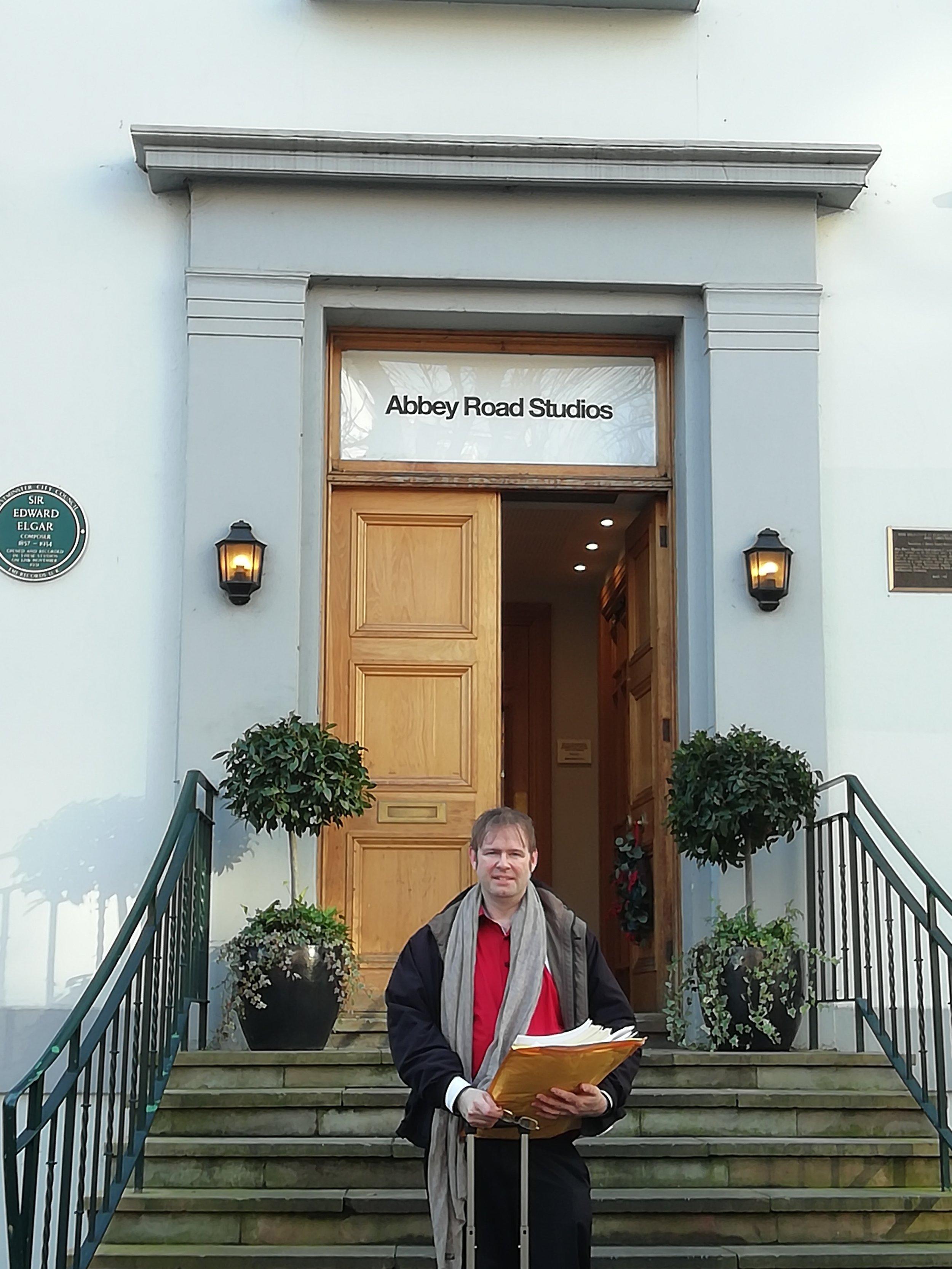 Kaska at Abbey Road Studios