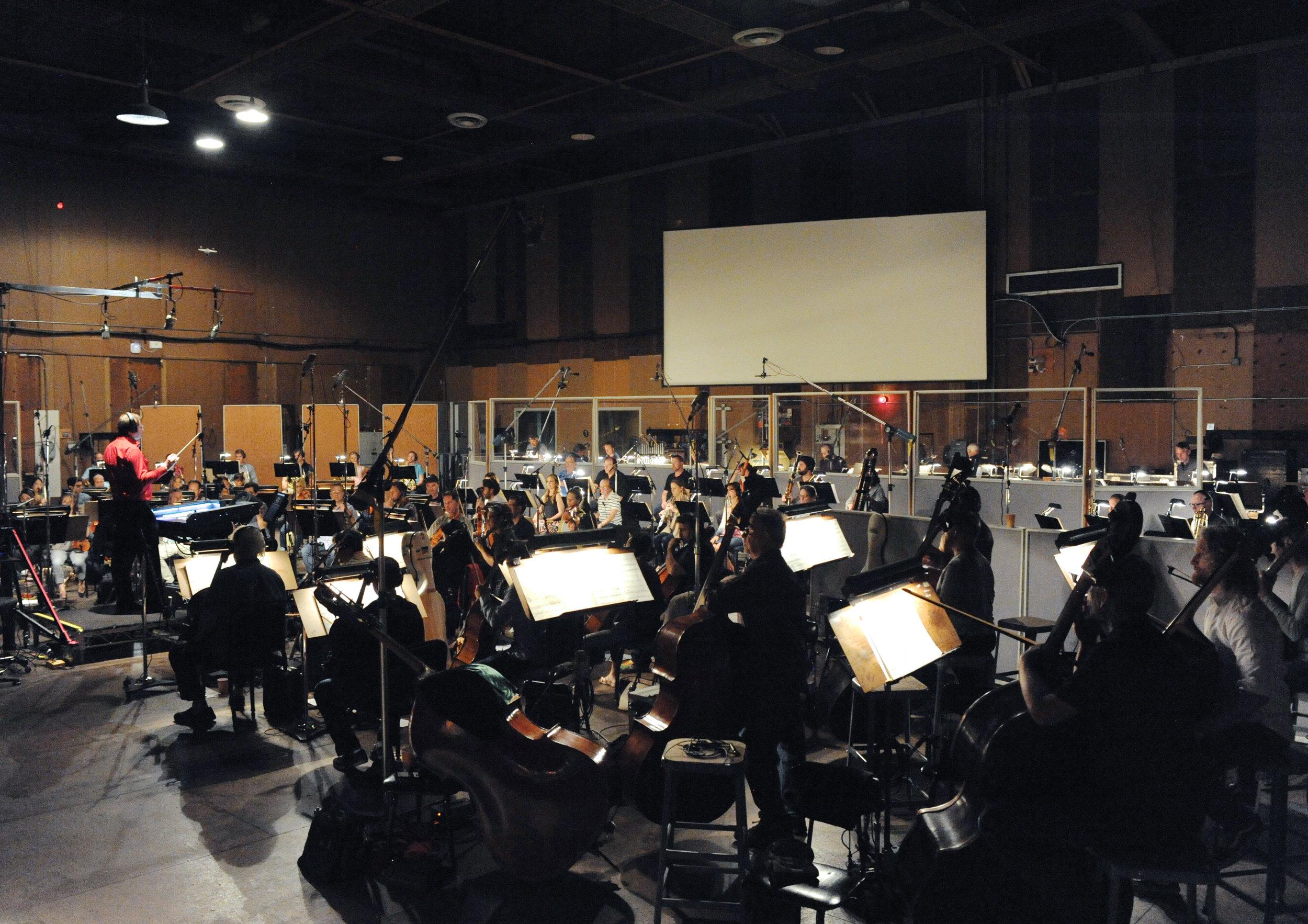 Kaska Conducting at Sony