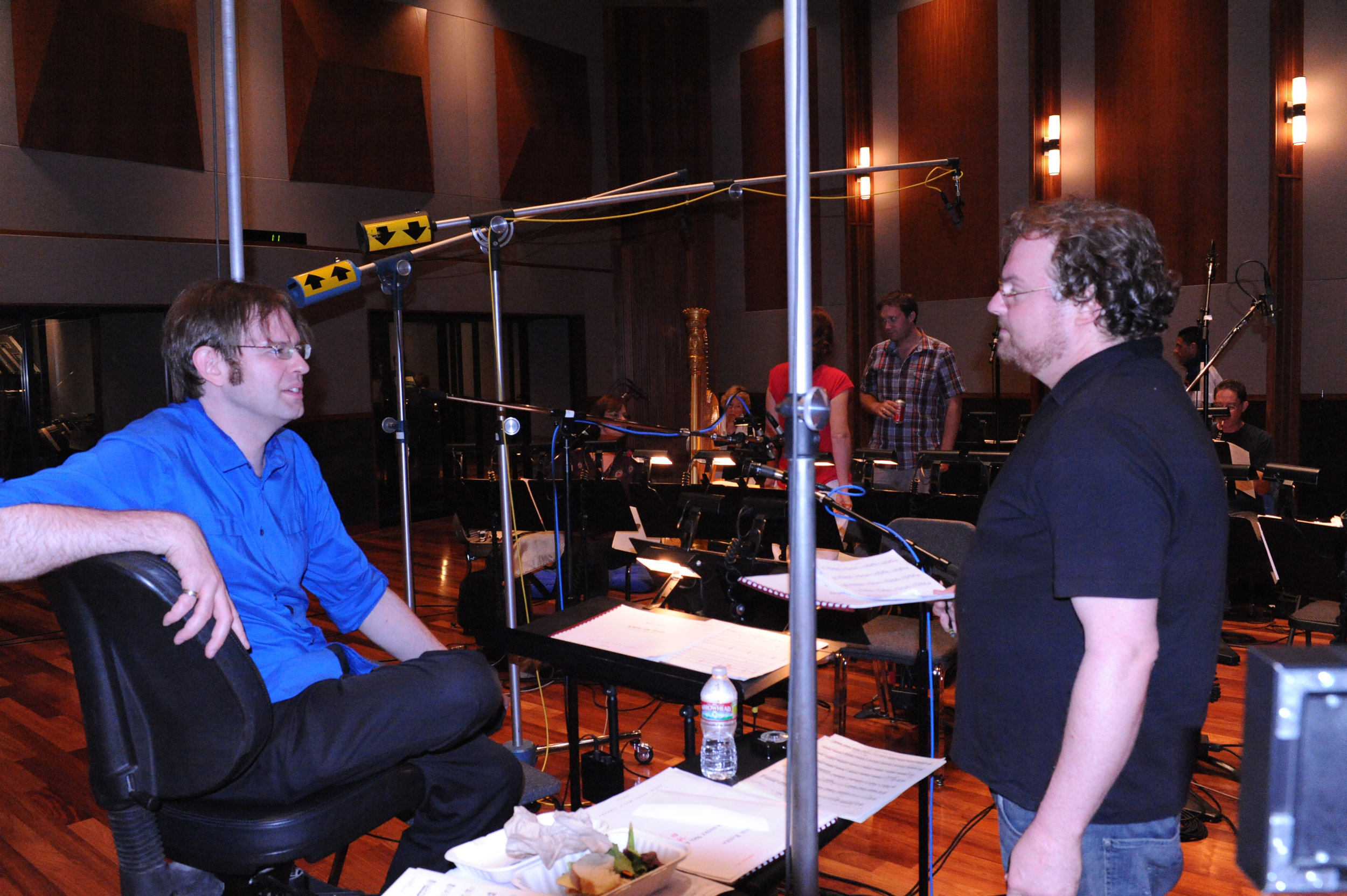 Kaska and Producer Mike Valerio