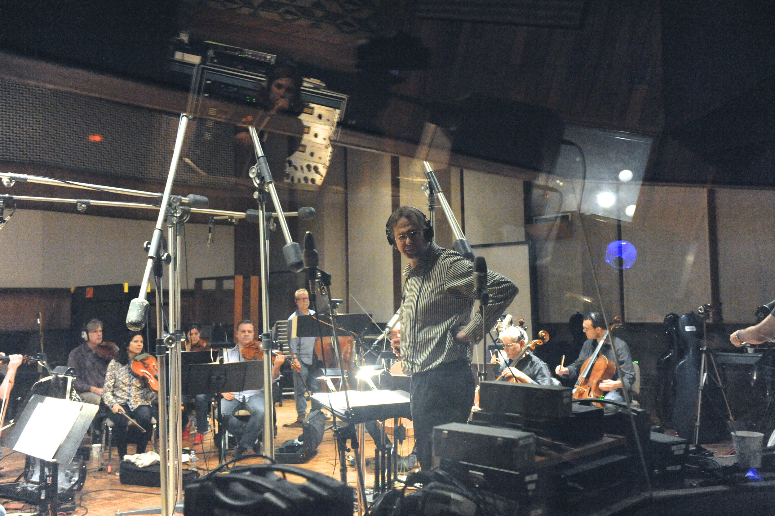 United Recording String Session