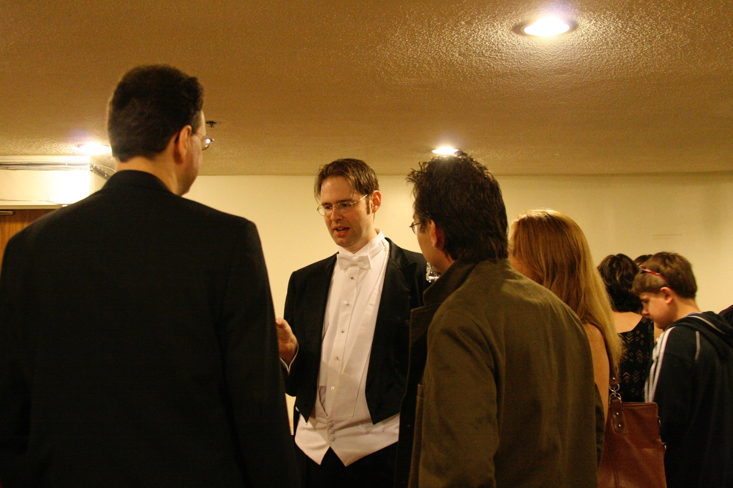 After Performance of Silicon Valley Symphony