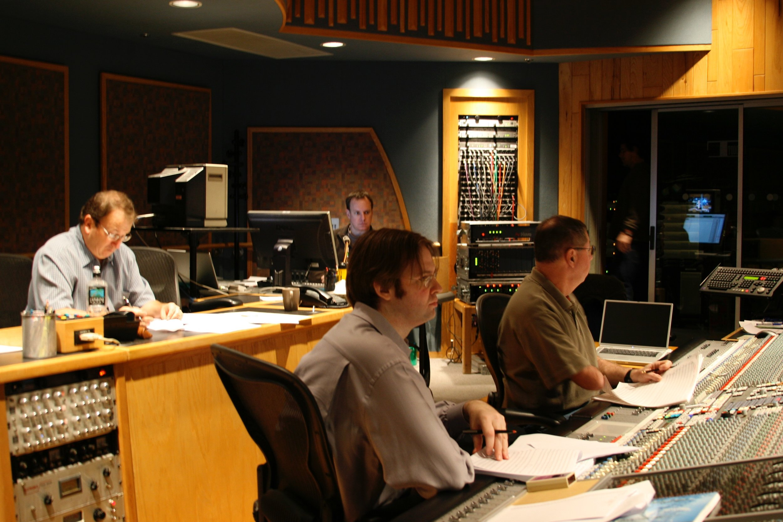 "Recording Booth for ""Jump"" Session"