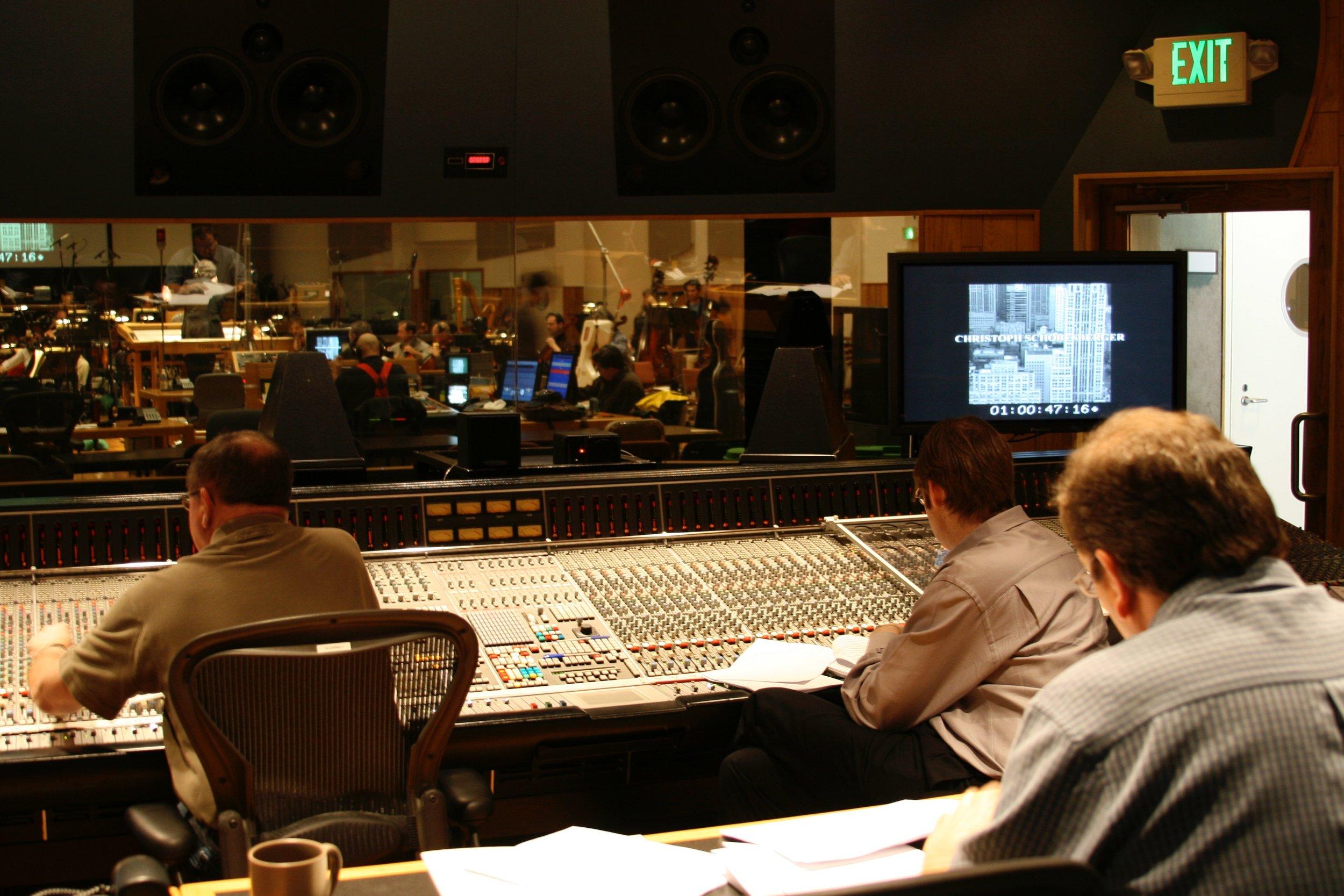 """""""Jump"""" Recording Session at Todd AO"""