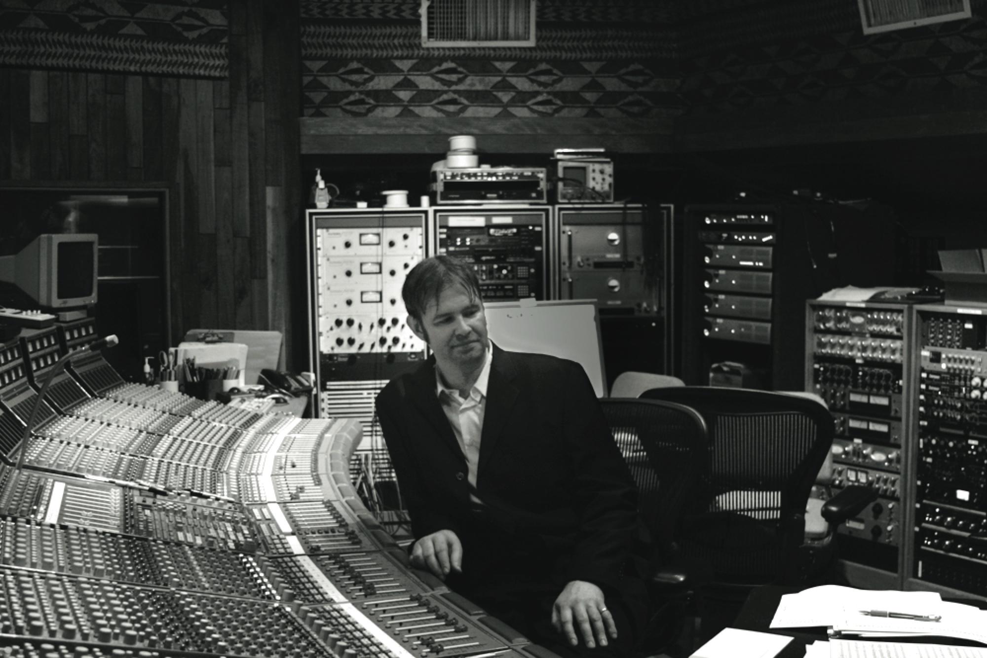 Kaska at United Recording Studios Console