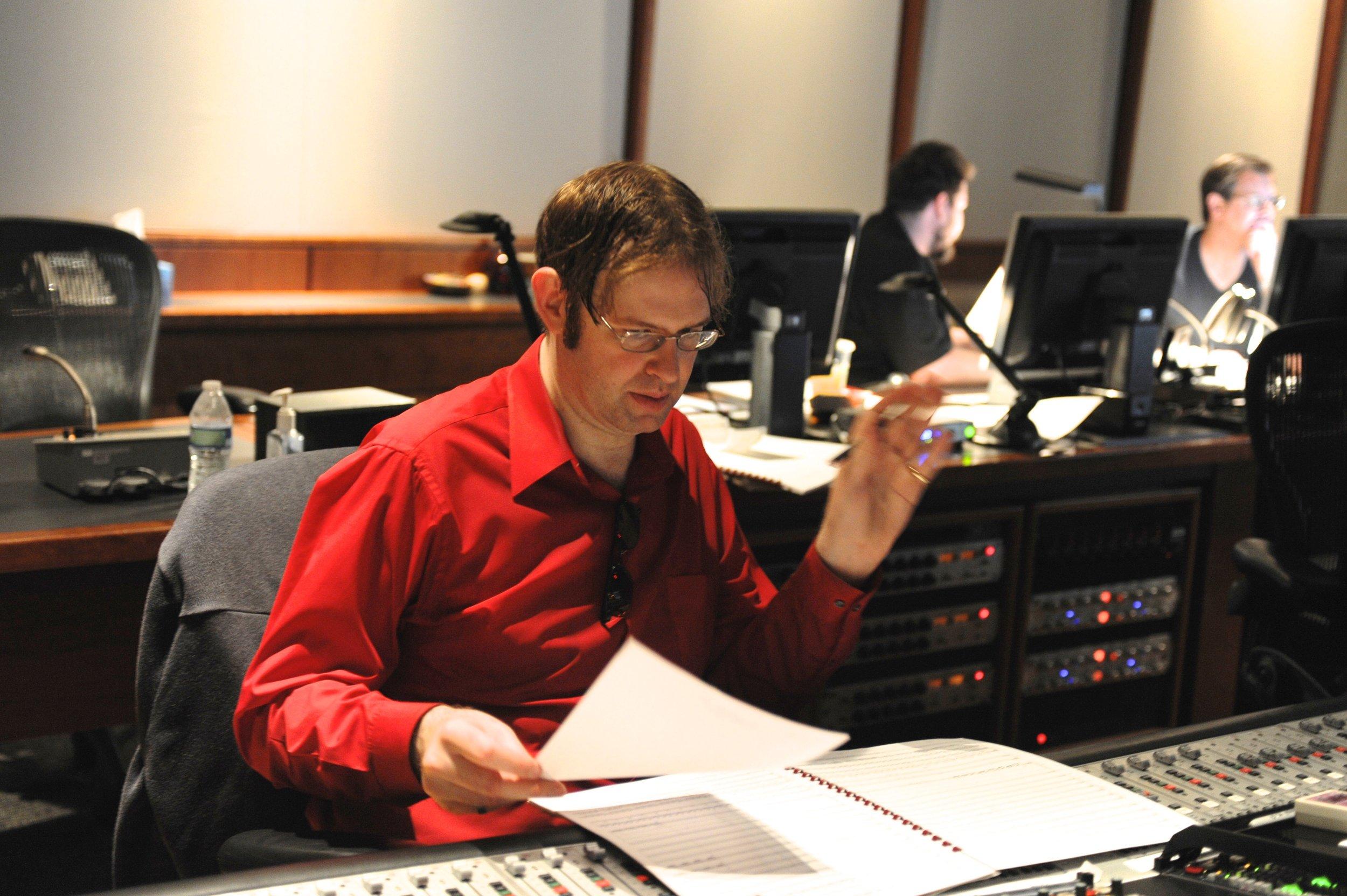 Kaska Recording at Warner Bros.