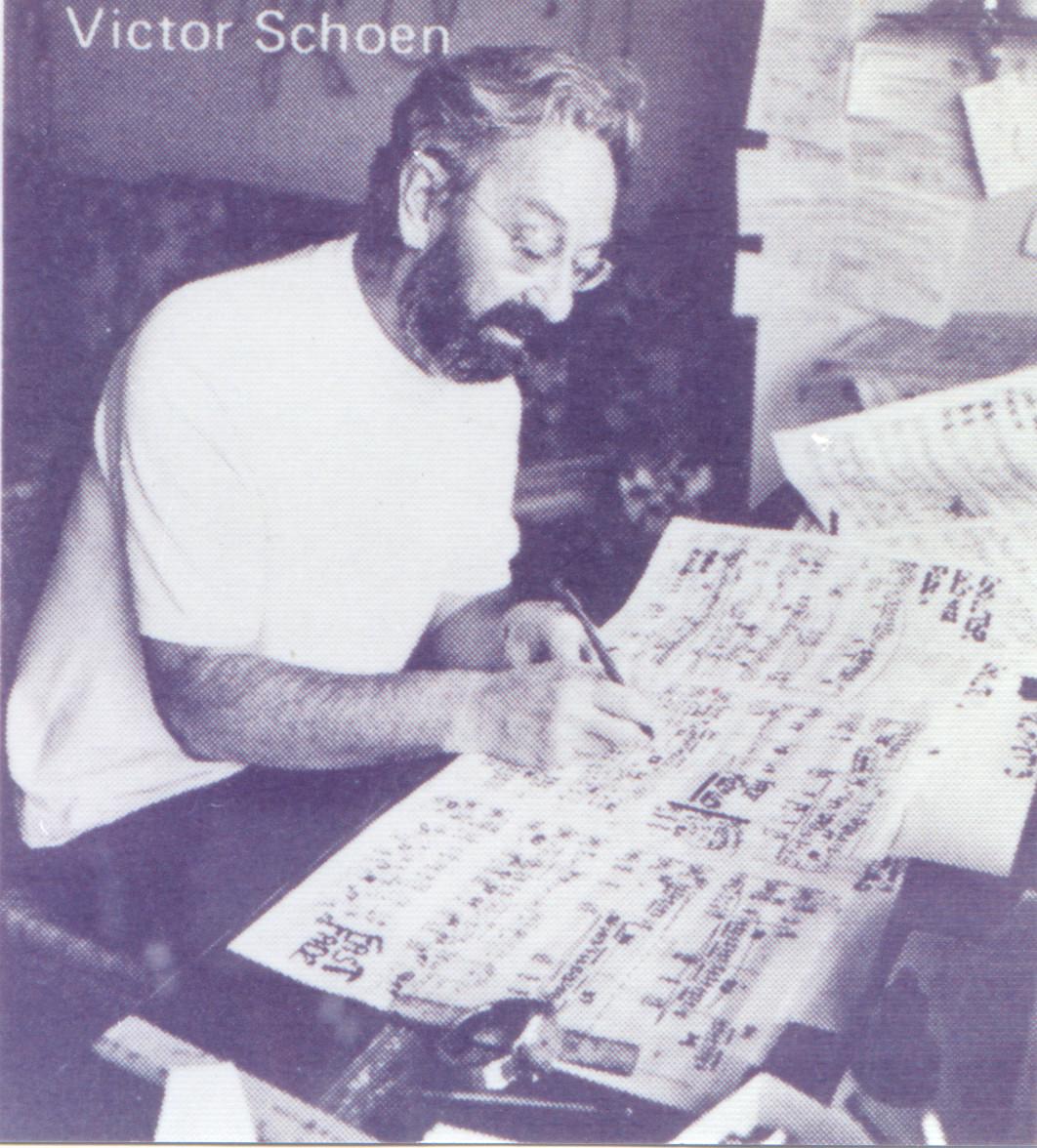 Kaska's Teacher Vic Schoen