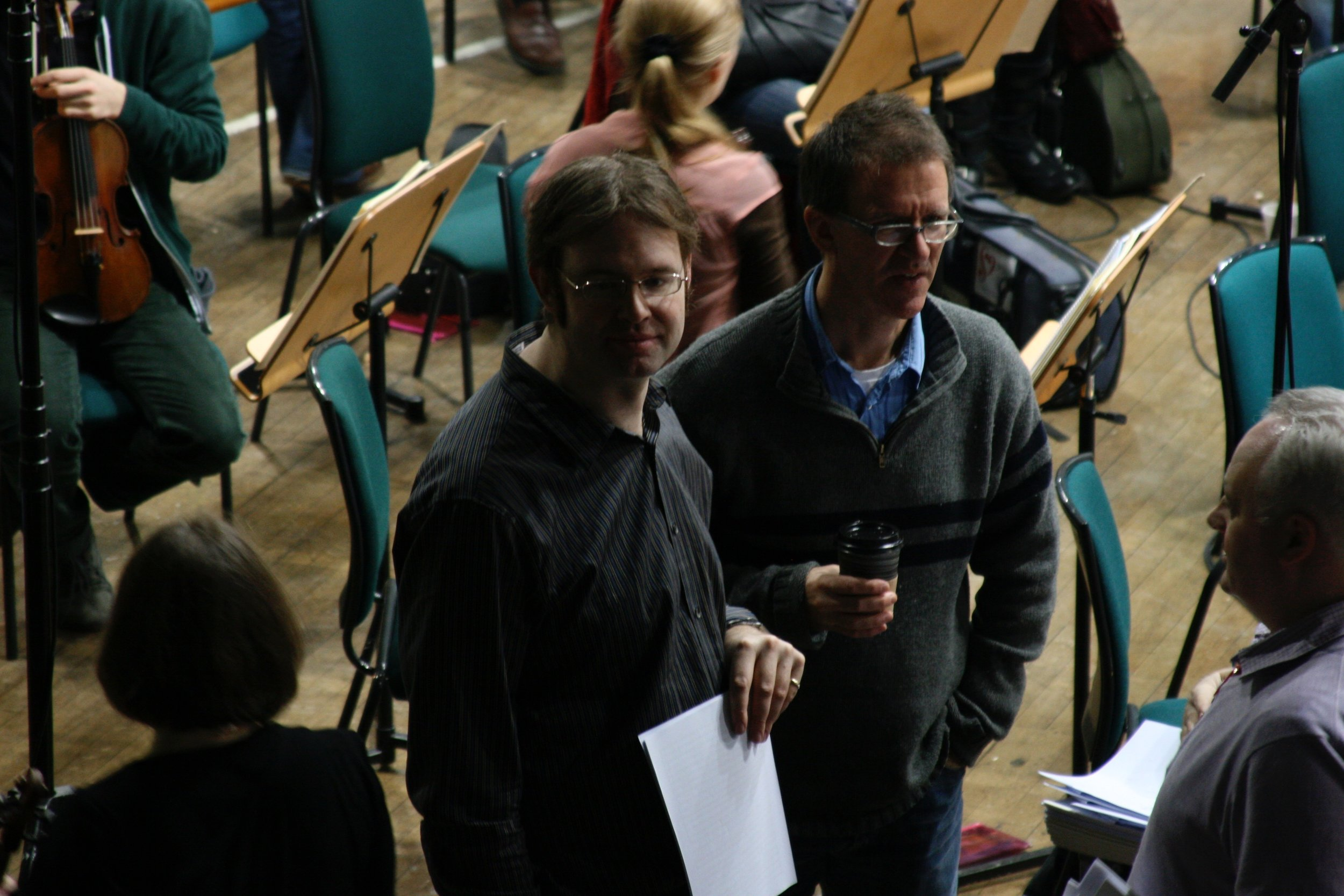 Recording With the Royal Scottish National Orchestra 2011