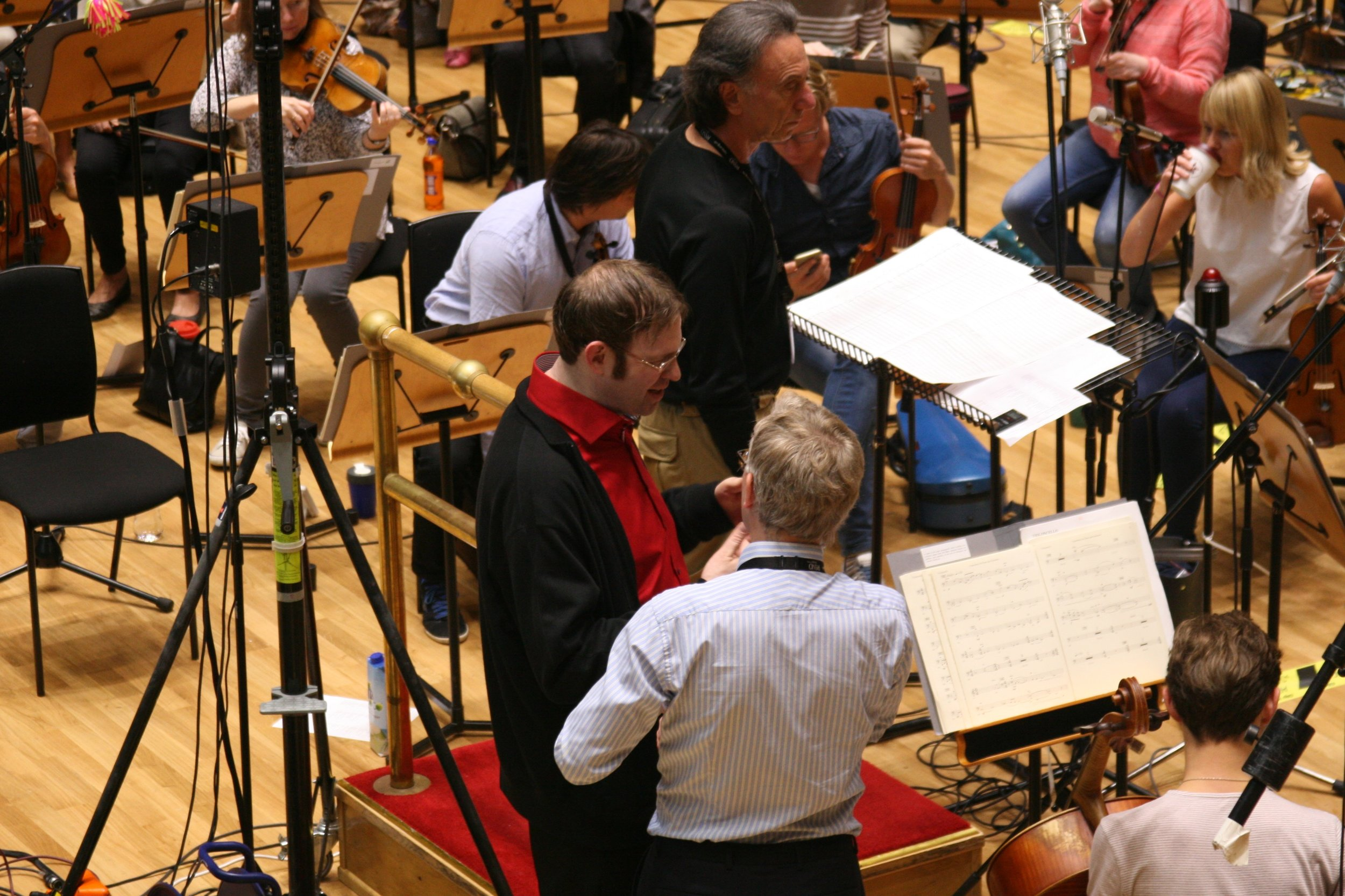 Recording With the Royal Scottish National Orchestra 2016