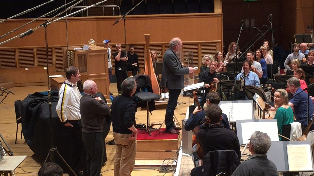 Recording With the Royal Scottish National Orchestra 2017