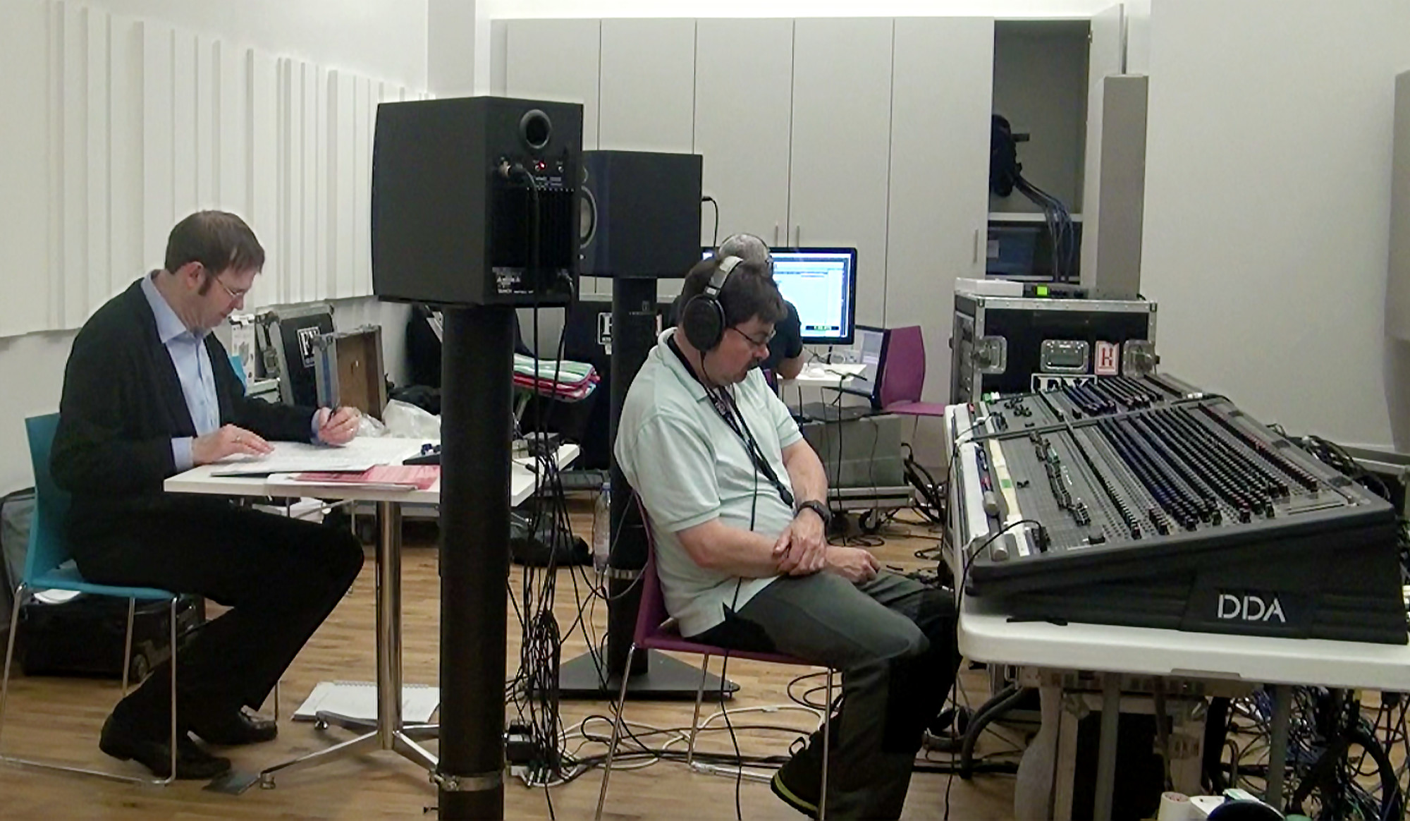 Kaska Recording the RSNO, 2016