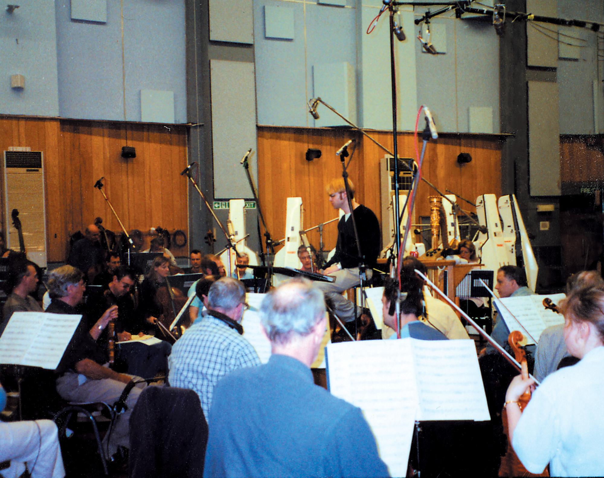 Kaska Conducting London Symphony