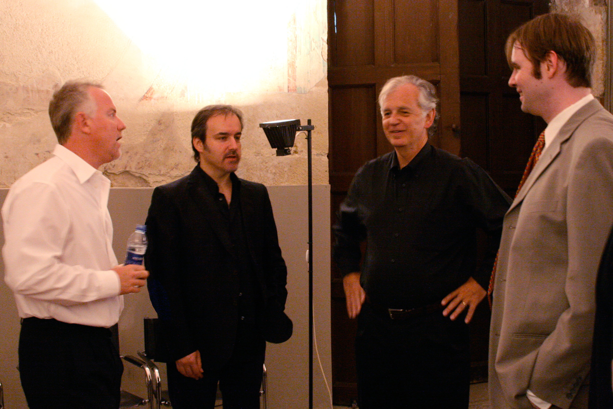 Composers John Debney, David Arnold, Bruce Broughton, & Kaska
