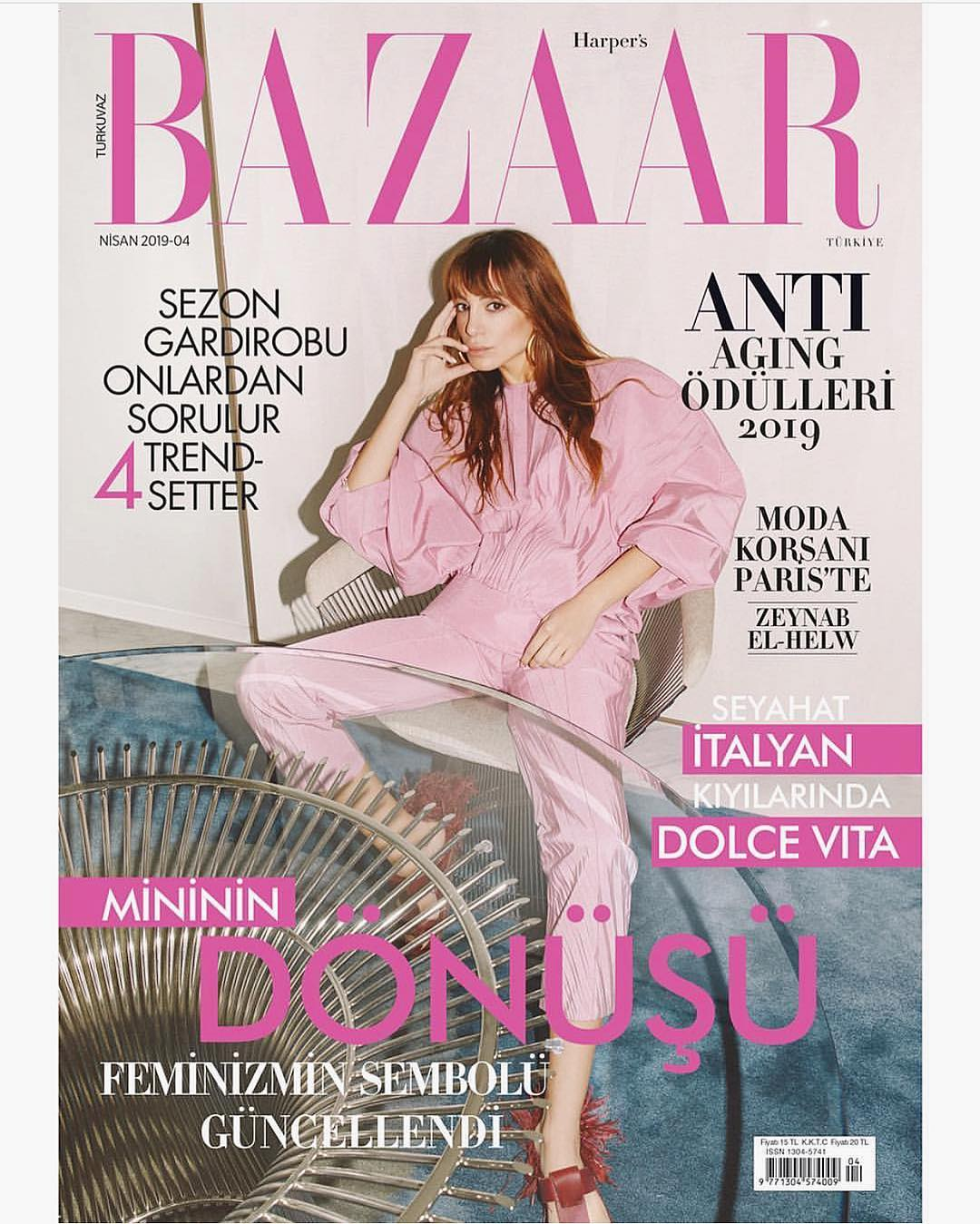 Fashion Pirate for Harper's Bazaar Turkey