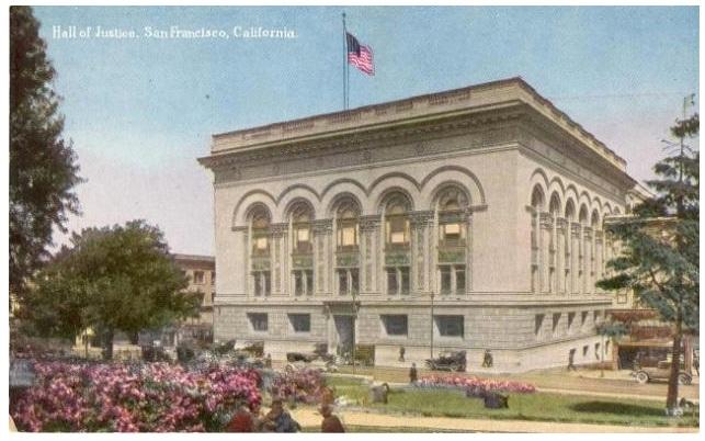 Hall of Justice, San Francisco, California