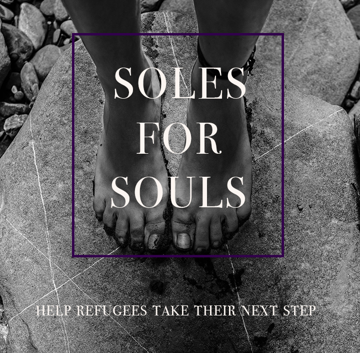 Soles for Souls asks for donations of to give shoes to those continuing on their journey towards freedom.