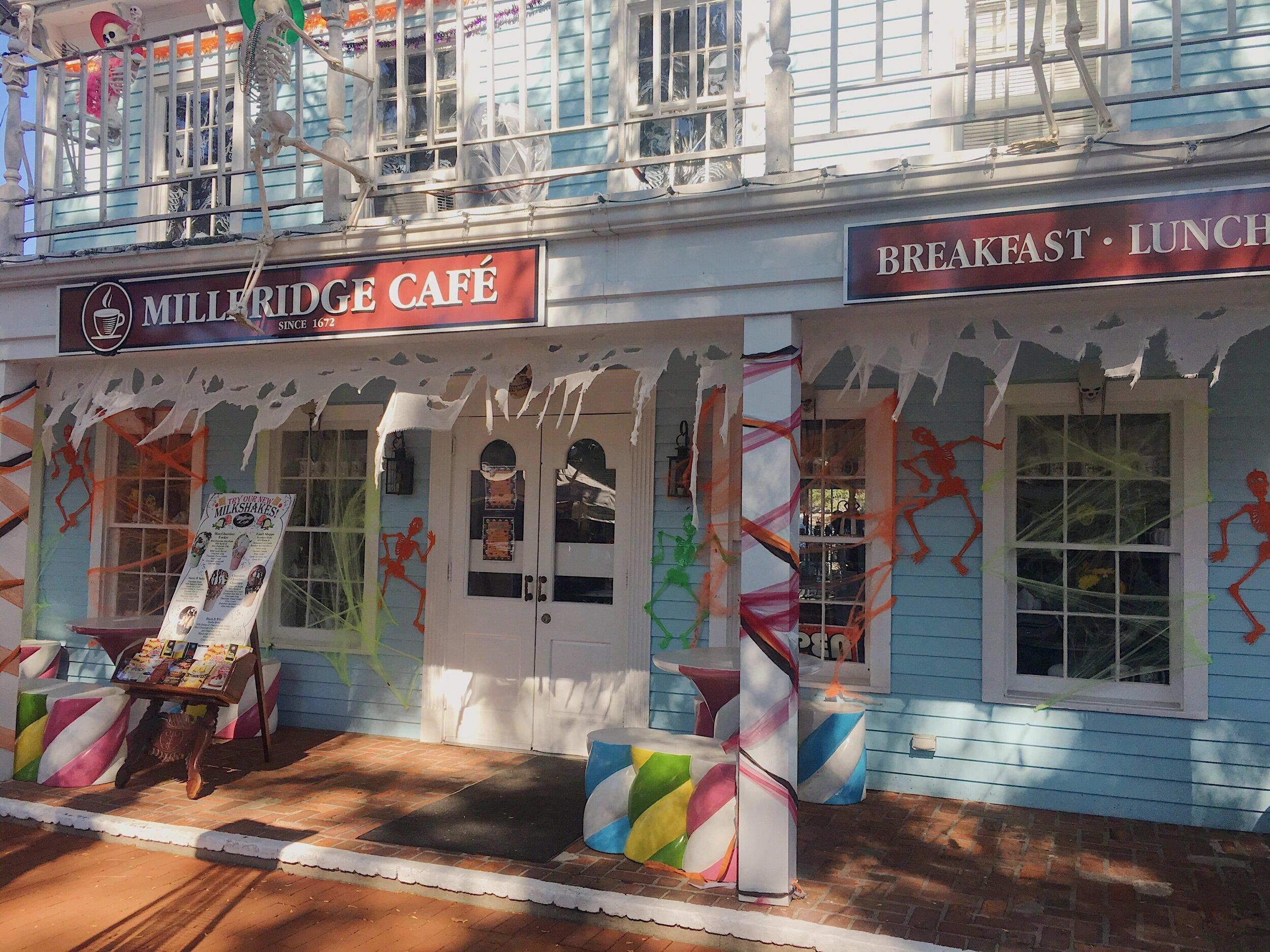 Storefront of Milleridge Cafe