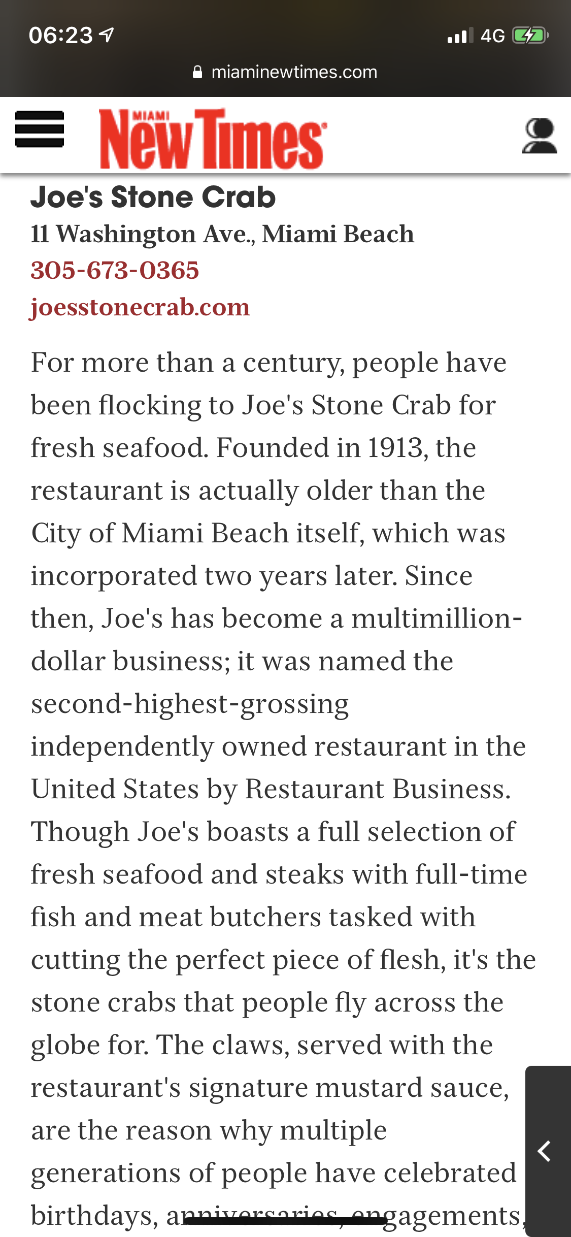 Found this description about the restaurant which is spot on!