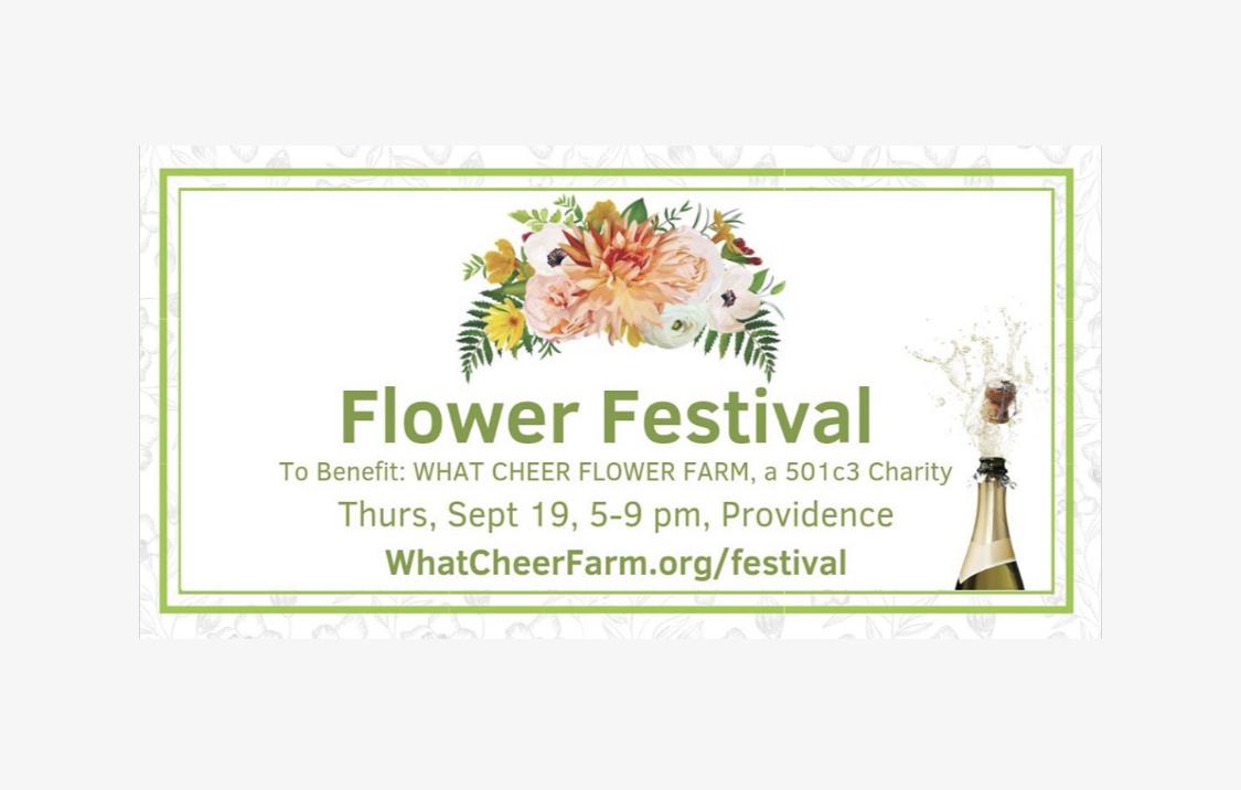 Flower Festival at What Cheer Farm