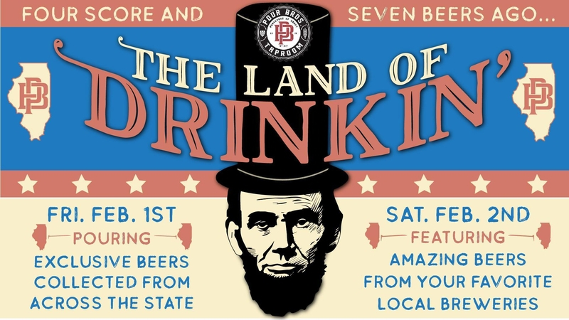 Pour Bros. will feature Illinois brews the 1st weekend of February -