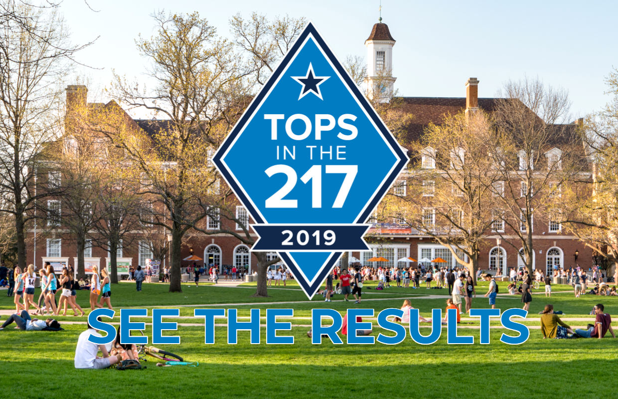 Tops in the 217 -