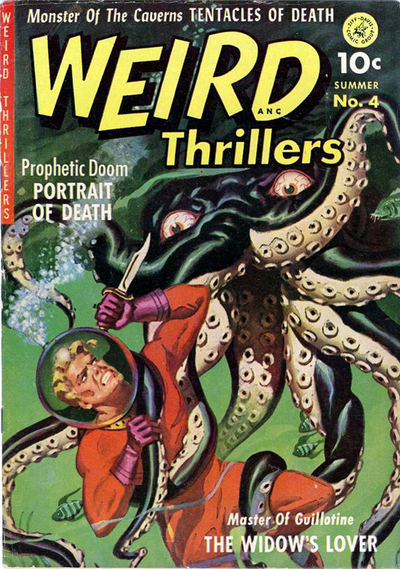 Weird thrillers original comic book cover art Norman Saunders.jpg