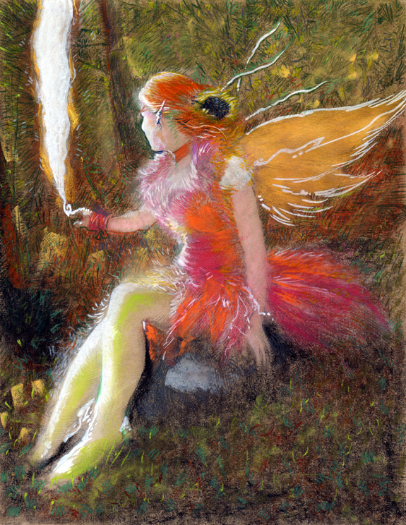 Print kelly fae fairy kurt brugel prismacolor pencils.jpg