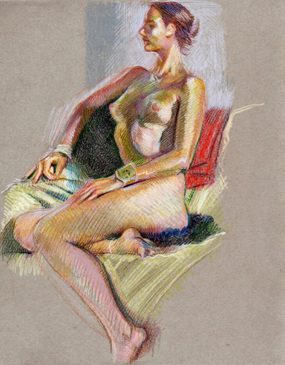 figure naked woman drawing kurt brugel dcad drawathon 01.jpg