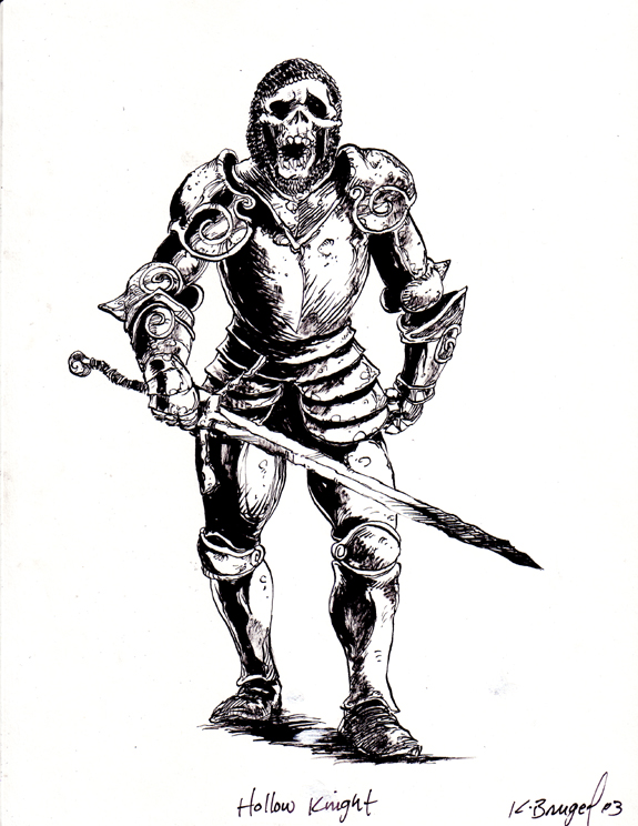 Tombs RPG illustration Hallow Knight inks.jpg