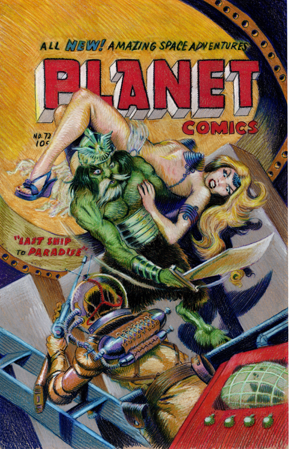 Planet Comics #72 Full Colored Pencils 03 web.jpg