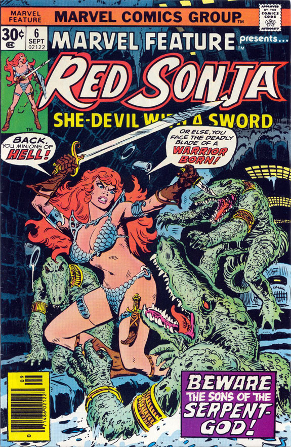 original Marvel Feature Red Sonja Frank Thorne cove web.jpg
