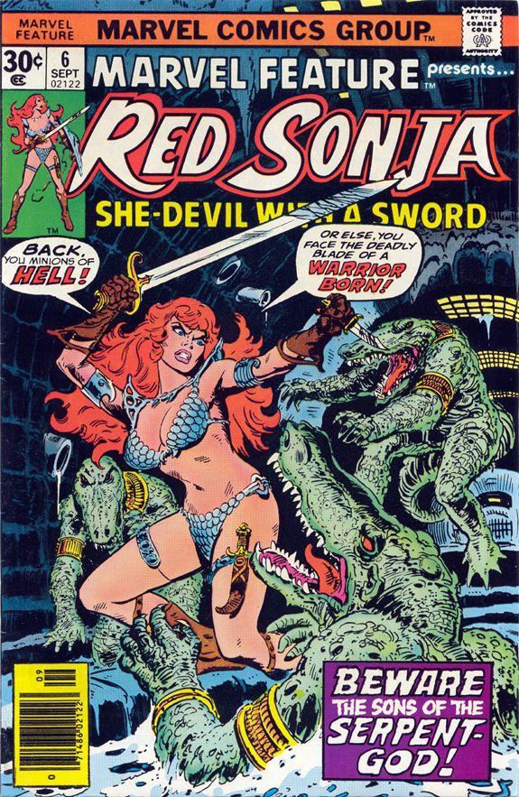 Marvel_Feature_6 Red Sonja Frank Thorne cover.jpg