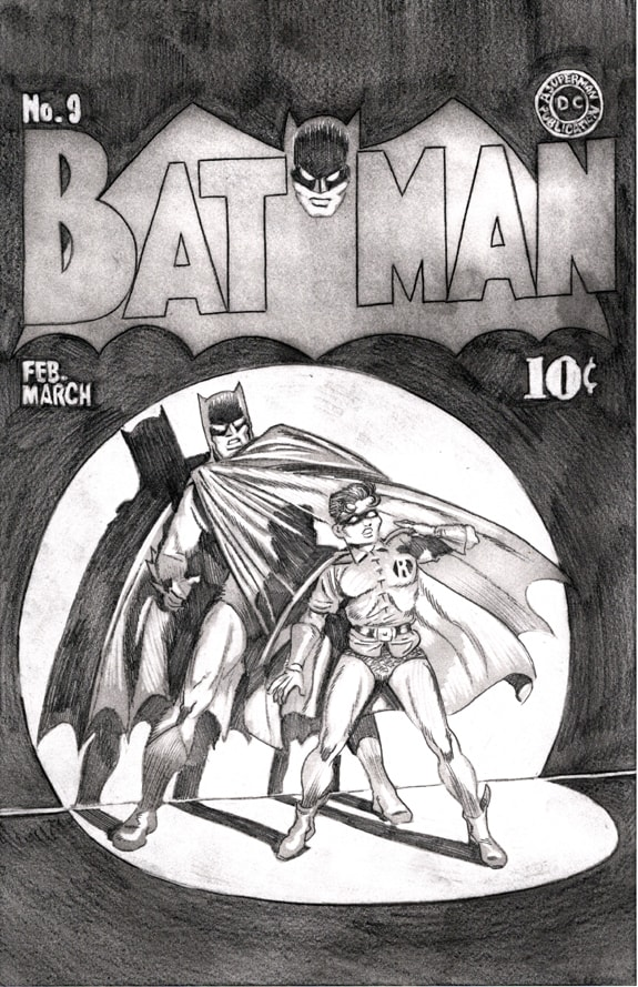 Batman and Robin 1940 cover preliminary pencil drawing 03 WEB-min.jpg