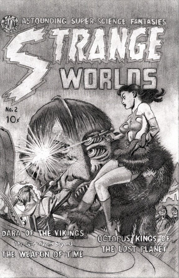 Strange Worlds #2 cover recreation preliminary pencil drawing 05 web-min.jpg
