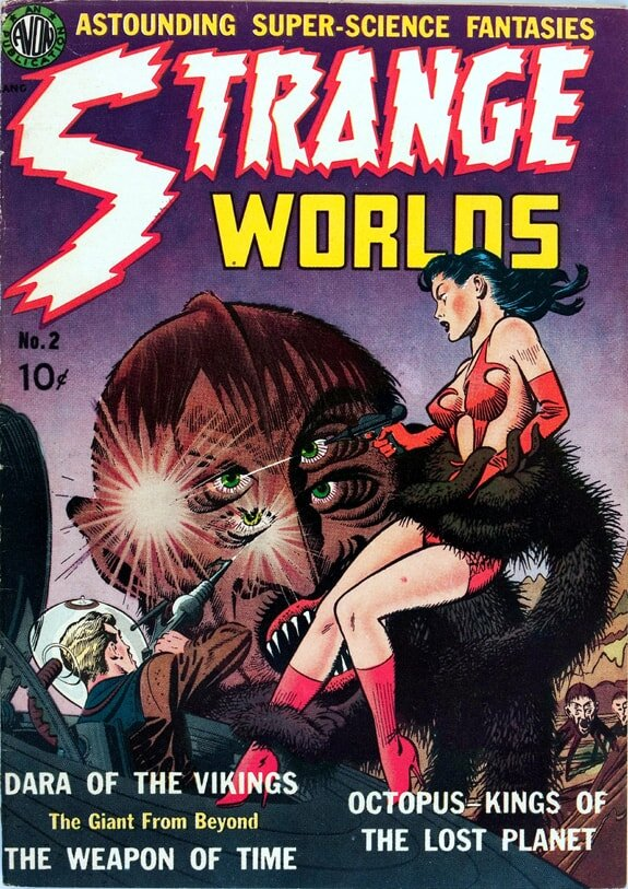 Strange Worlds #2 cover recreation Gene Fawcette WEB-min.jpg
