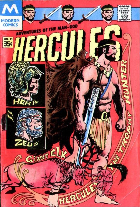 Hercules comic 11 1968 charleton Sam Glanzman cover WEB.jpg