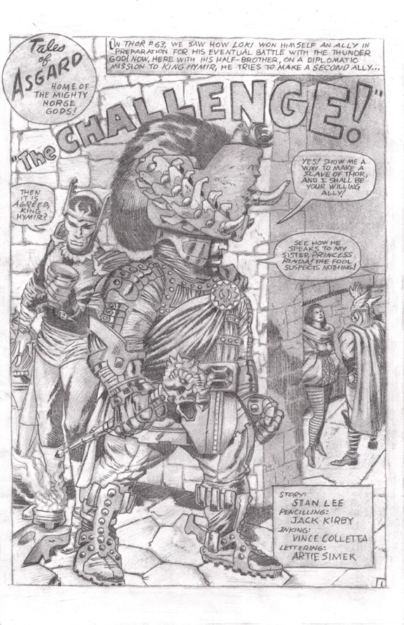 Journey into Mystery 116 Jack Kirby THOR preliminary pencil drawing 05-min.jpg