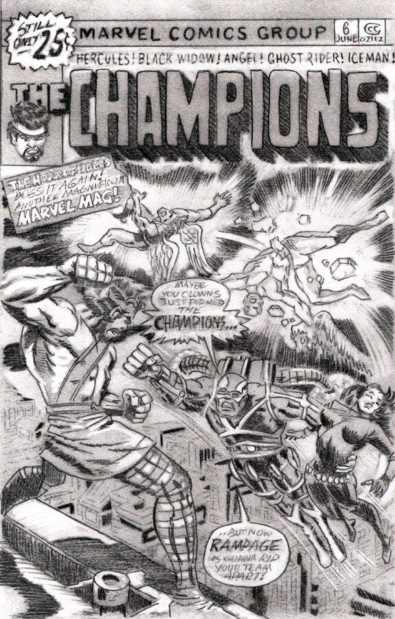 Champions #6 pencils preliminary drawing 03 web2-min.jpg