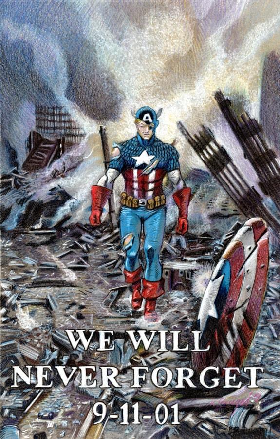 Colored pencils Captain America 911 01crop web-min.jpg