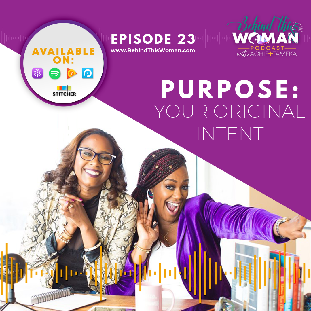 "- Hidden in the heart of every human lies the question, ""WHY am I here?"" In this episode Achie + Tameka reveal their deepest purpose discoveries found in Dr. Myles Munroe's bestselling book, ""Unleash Your Purpose."" The answer to your most significant question is found in the most obvious, but many times overlooked, place."