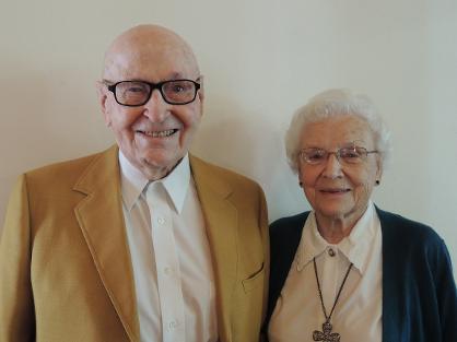 John and Dorothy Peak.