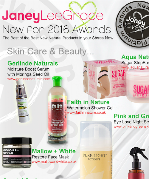 "AWARD WINNING  Restore mask ""New for 2016 Platinum Award"".   Janey Lee Grace"