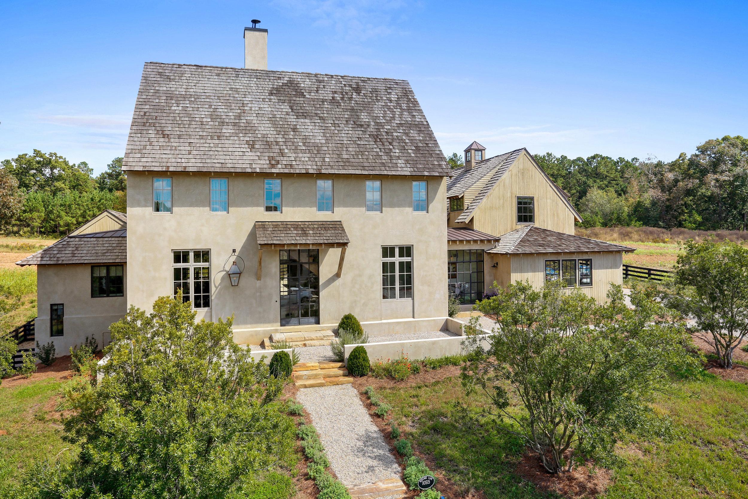 Belgian Farmhouse     6 Beds 7.5 Baths 6,300 SQFT    Serenbe Community    Chattahoochee Hills, GA