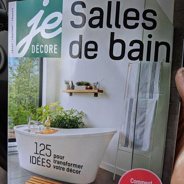 Belle apparition dans le magasine québécois Je Décore! Beau mois d'août ça!  #faitici #madeinquebec #toutanbwa #ebeniste #artisan #teamnddb #nddbrepresents @magazinejedecore