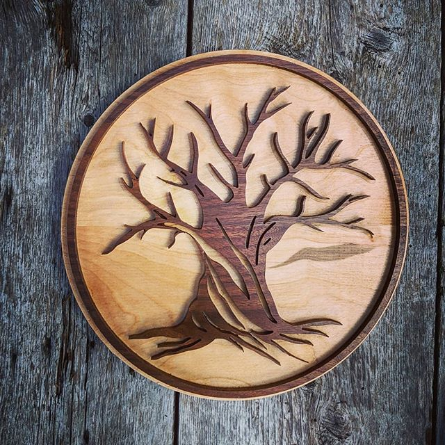 Minnesota here you go!  #toutanbwa #signmaker #woodworking #blackwalnut #birch #madeinquebec