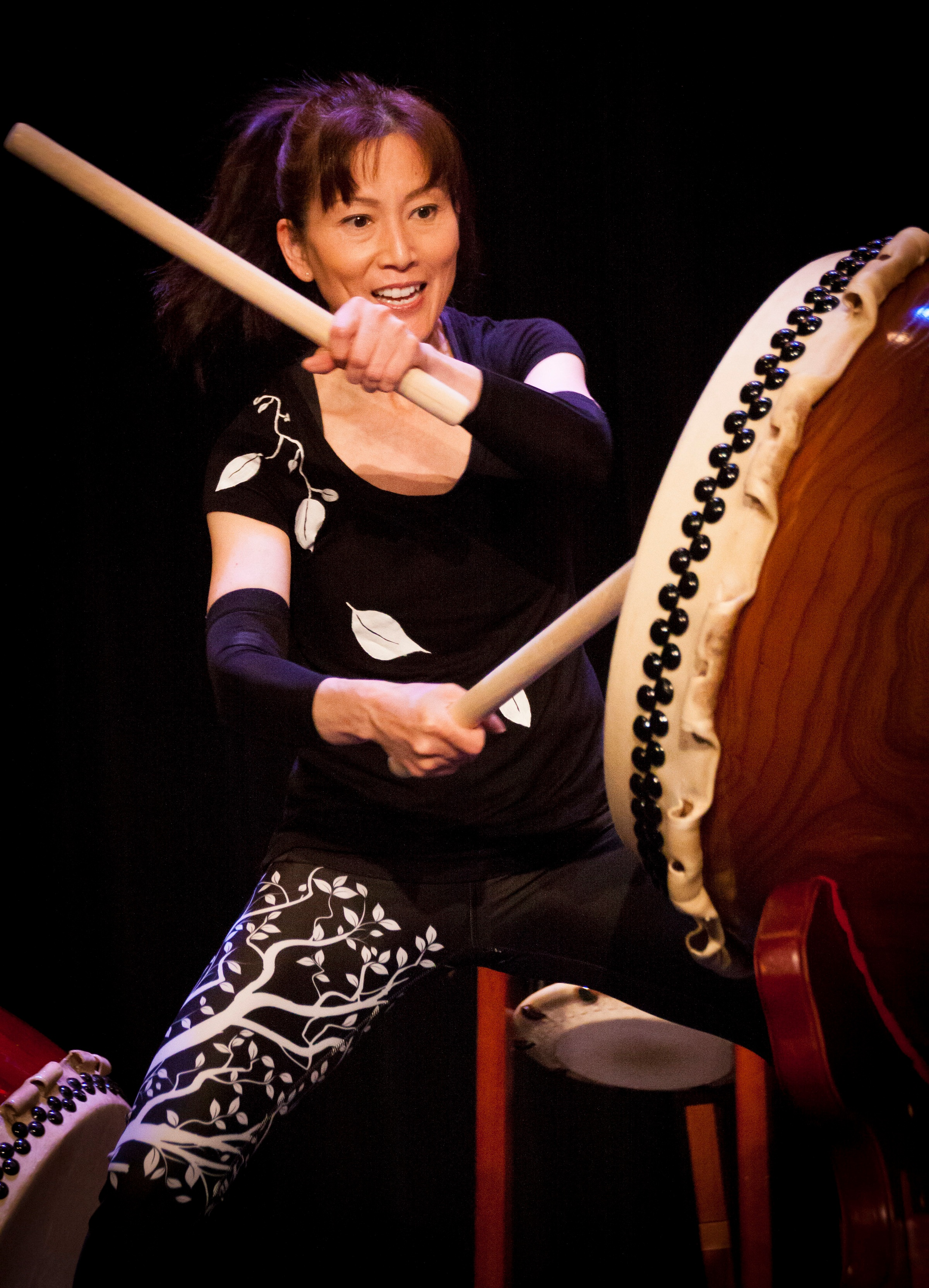 Godaiko Drummers - You can't just listen to taiko drumming, you have to feel it! Our popular Godaiko Drummers are always ready to bring an exciting program of Japanese taiko drumming to our local community.