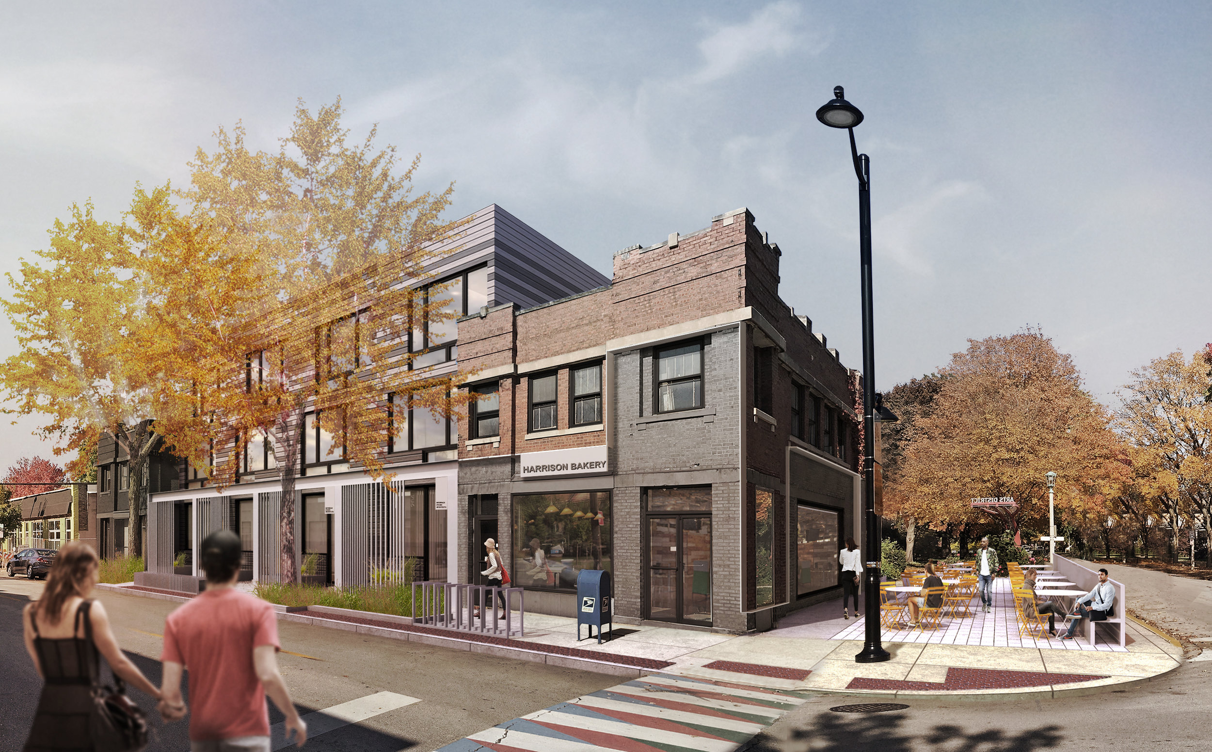 CRAIN'S CHICAGO BUSINESS   Modern Oak Park townhouses sell out before groundbreaking   July 20, 2017