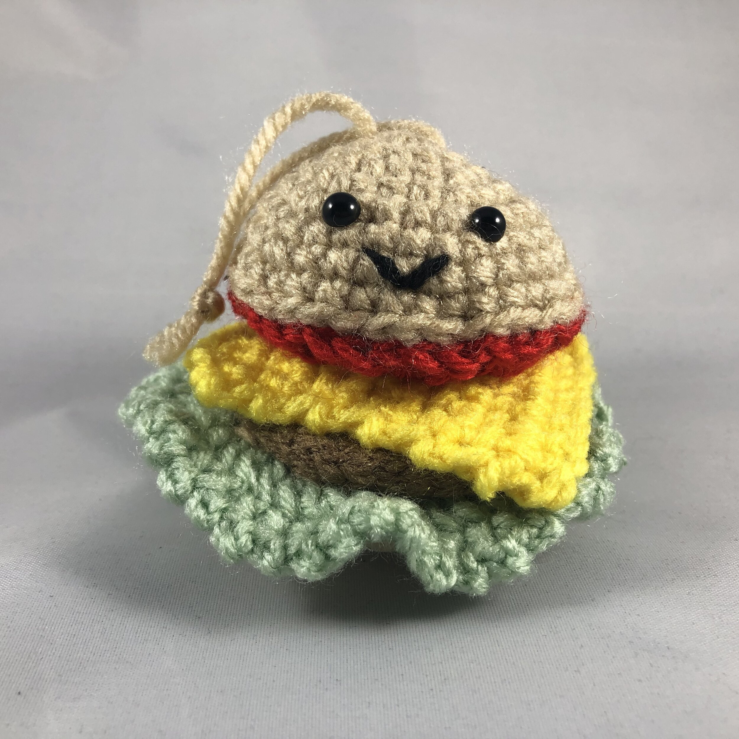 Ravelry: Crochet Burger pattern by Janine Tsakisiris | 1000x1000