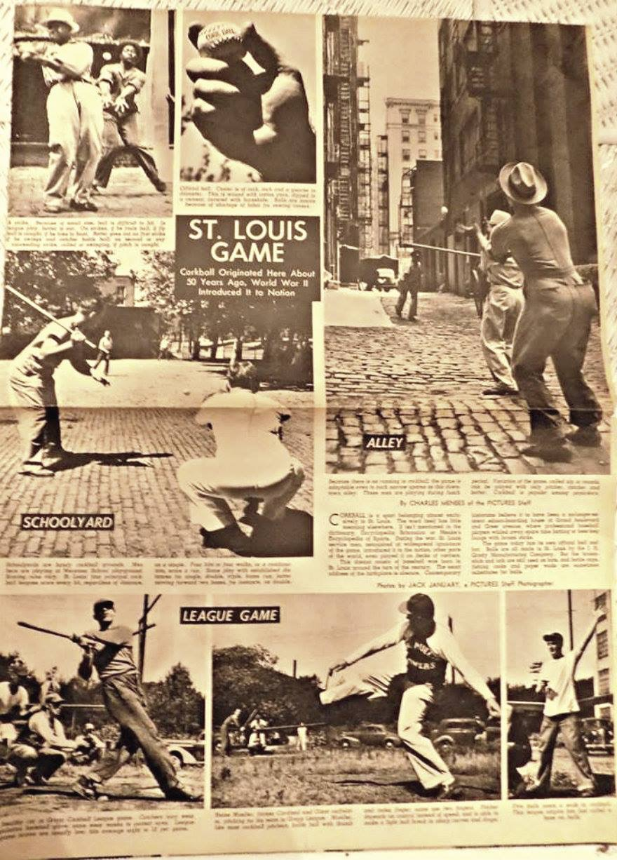 Cork Ball's St. Louis history surfaces